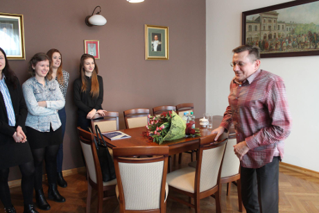 Młodzi Aktywni Obywatele w ZS w Mszczonowie