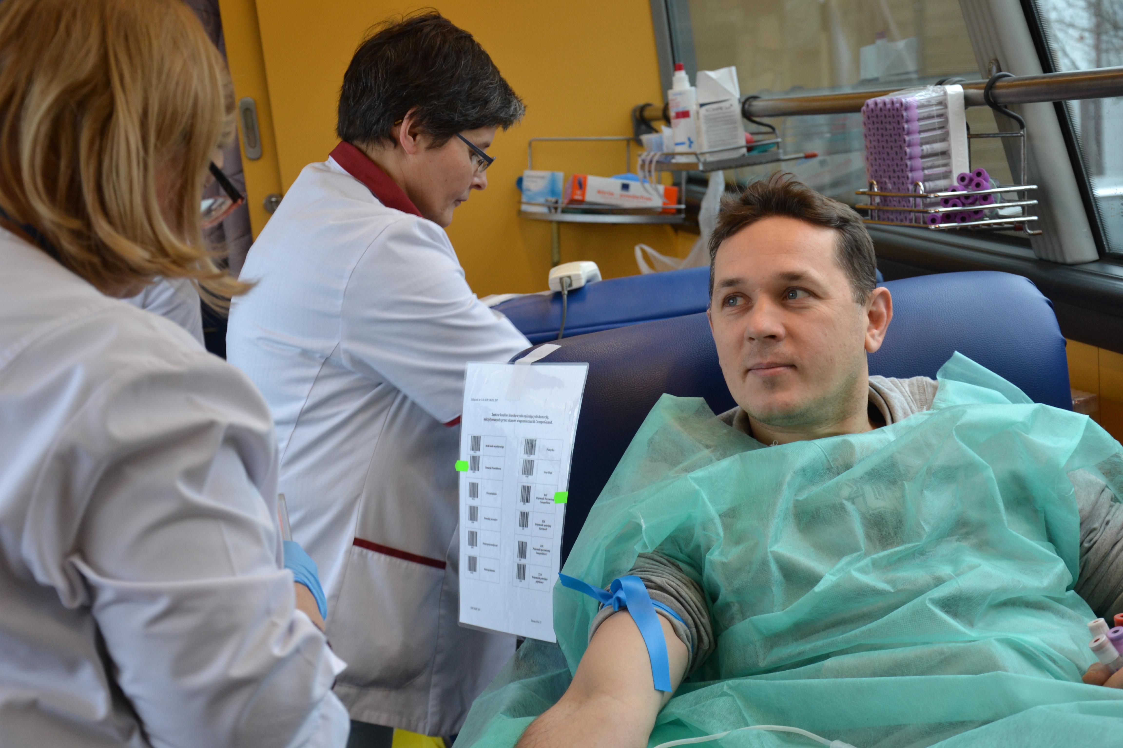 Oddali krew dla WOŚP