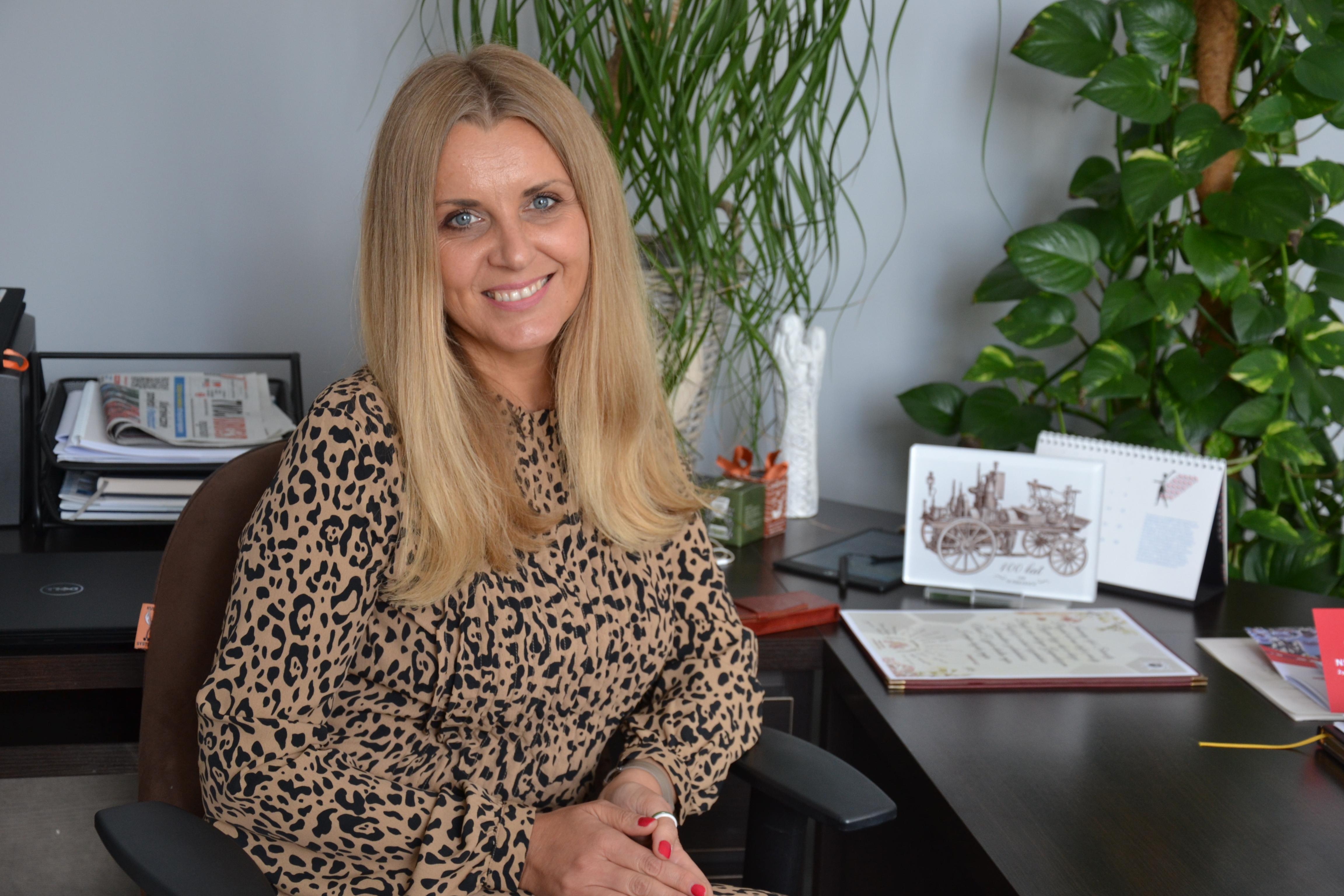 Chcemy być nowoczesnym powiatem, mówi Starosta Beata Sznajder
