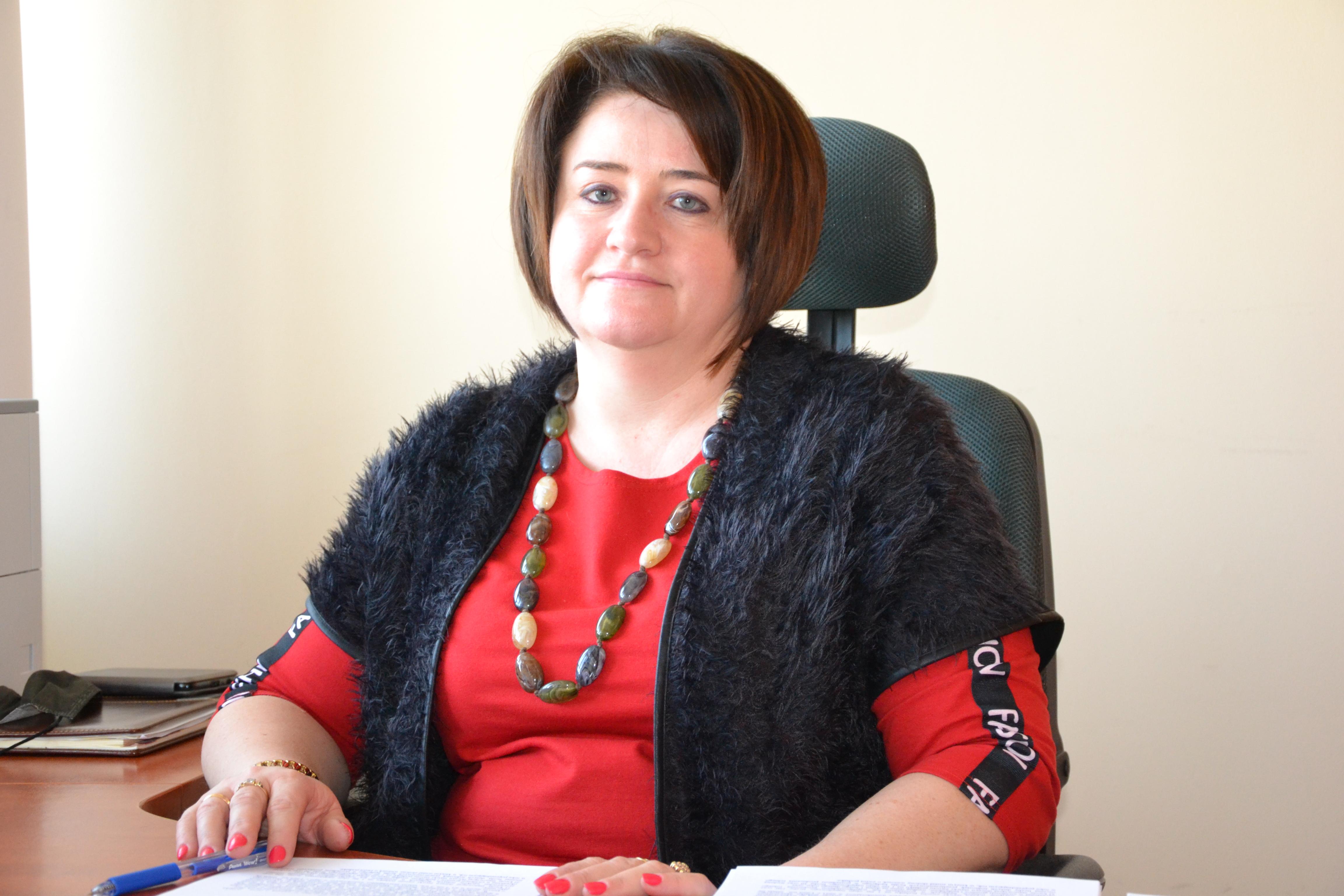 Edyta Fedorowicz dotychczasowa Skarbnik Powiatu rozpoczęła pracę w UM w Mszczonowie